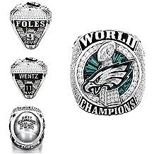 GF-sports store 2018 Philadelphia Eagles Replica Championship Ring Gift Fashion Jewelry