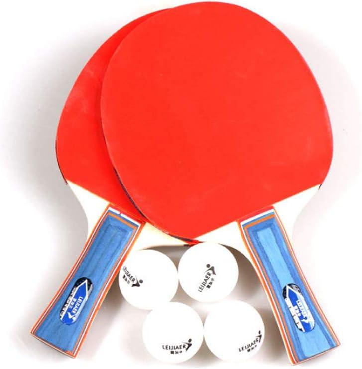 Mesa De Ping Pong Portátil Conjunto con Invertido De Goma con 2 Tabla De Ping Pong Paletas Y 4Ping Pong Bolas para Adultos De Los Niños Indoor Actividades Al Aire Libre