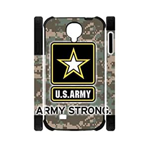 Canting_Good US Army Camouflage Custom Dual-Protective Case Shell Cover for Samsung Galaxy S4 I9500 3D by lolosakes by lolosakes