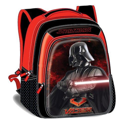 Star Wars 16 inch Classic Backpack - Darth Vader - Premium High Quality - Star Wars Rucksack