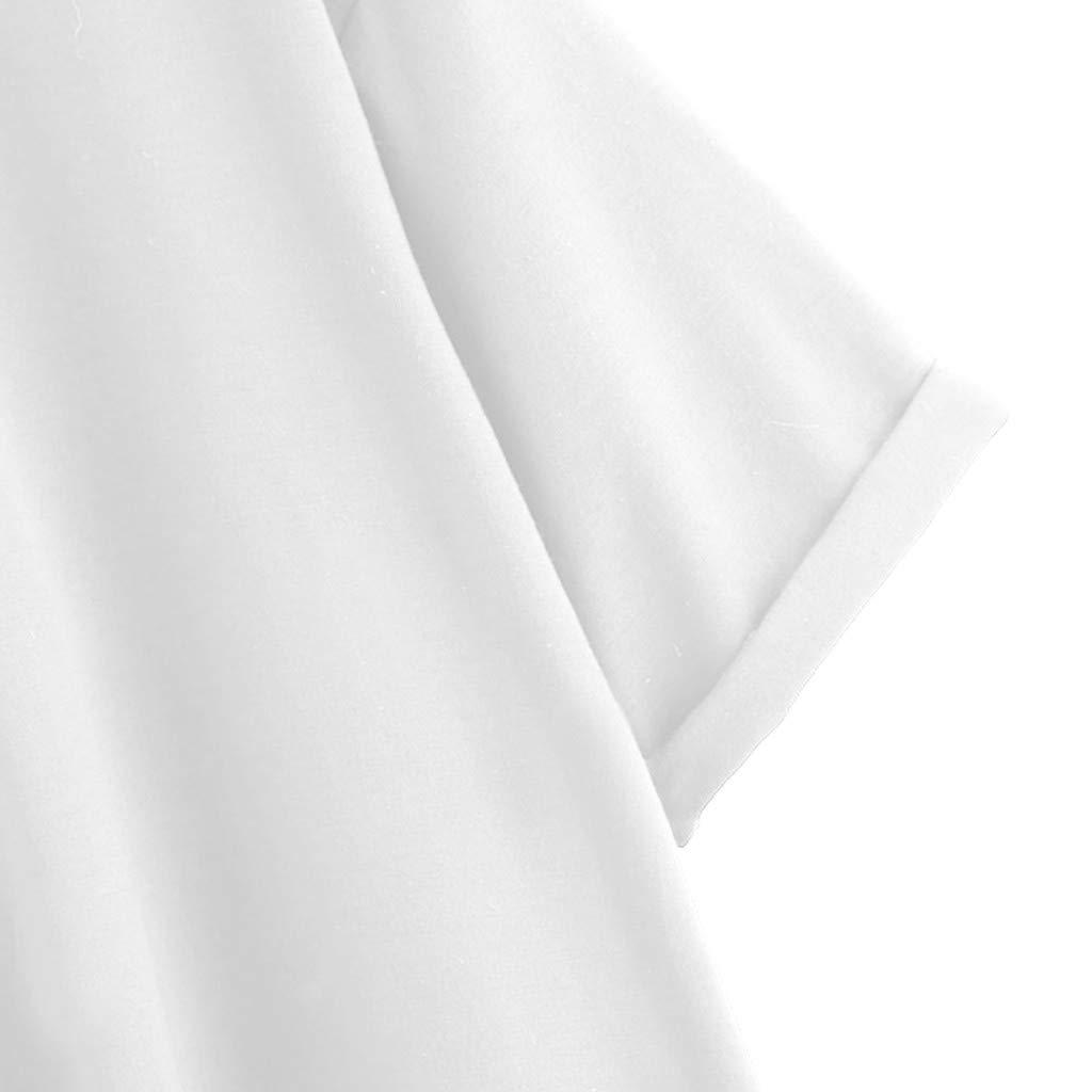 Luckycat Camisetas Mujer Manga Corta Camisetas Mujer Tallas Grandes Camisetas Mujer Verano Blusa Mujer Sport Tops Mujer Verano Casual Blusa