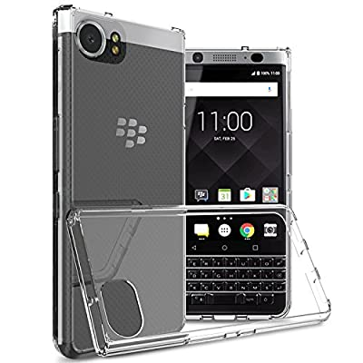 Blackberry KEYone Case, [Invisible Armor] Xtreme SLIM, CLEAR, SOFT, Lightweight, Shock Absorbing TPU Rubber Bumper Case/ Back Cover by Tektide