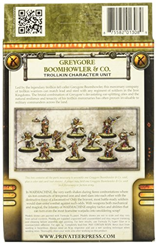Privateer Press - Warmachine - Mercenary: Boomhowler and Company Model Kit 4