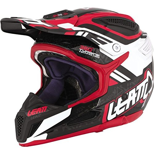 Price comparison product image Leatt Adult GPX 5.5 V04 Off-Road Helmet Small Red / Black / White