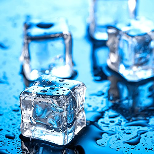 Acrylic Clear Ice Rock Diamond Crystals Fake Ice Cubes Decorative Ice Rocks Plastic Ice Cubes for Decoration Vase Fillers Table Scatter Party Favor Event Wedding Arts Crafts, 1