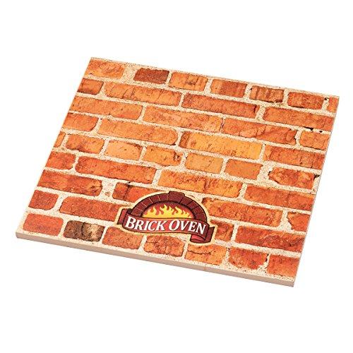 Dial Stone Set - Brick Oven Square Ceramic Pizza Stone (12-Inch)