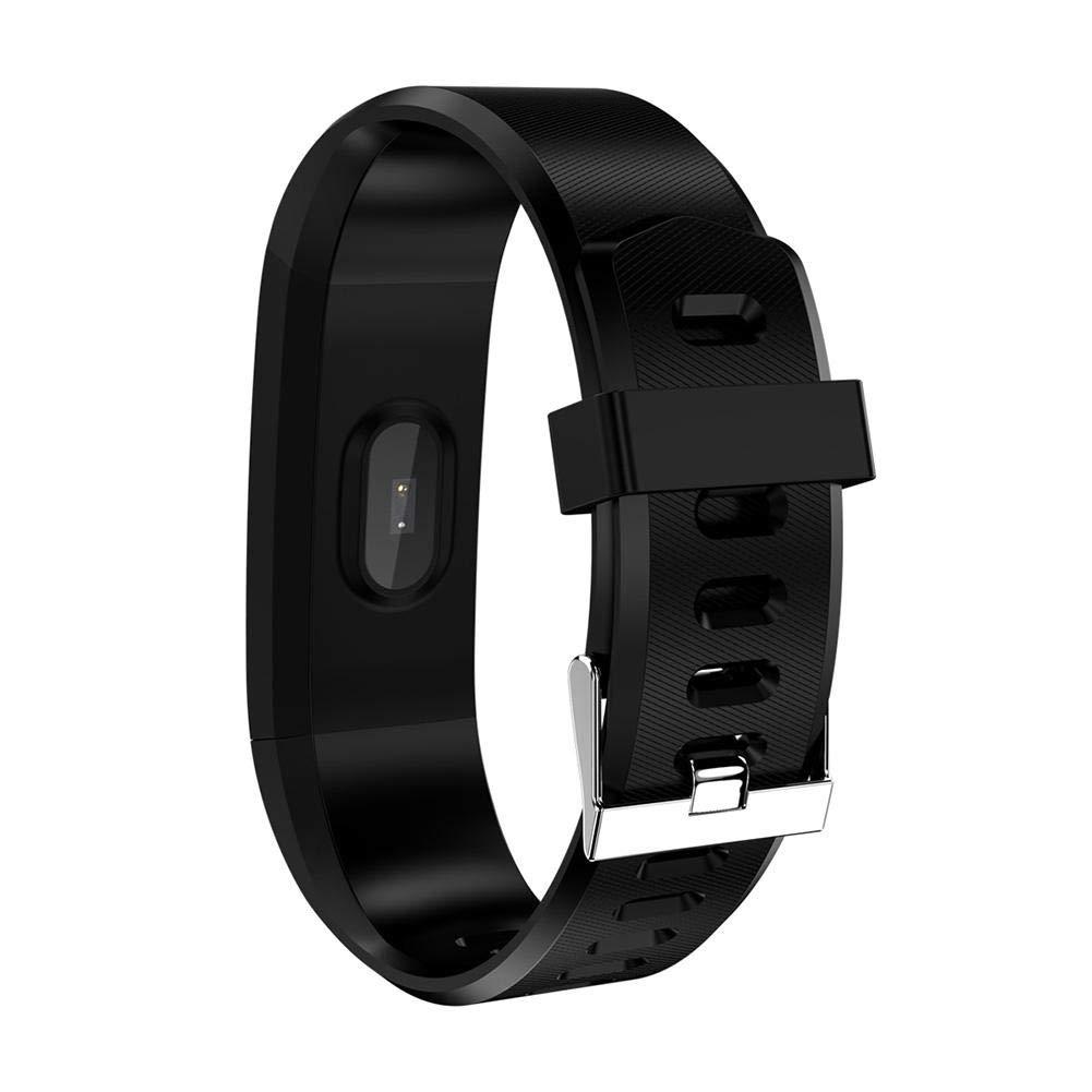 dan-dar Bluetooth ID115 Plus Pedometer Wristband Bracelet Heart Rate Running