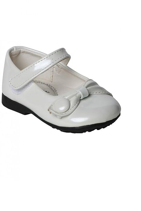 1327aa375 Zapatos de Bautizo Blanco para el bebé - Marfil - 24  Amazon.es  Zapatos y  complementos