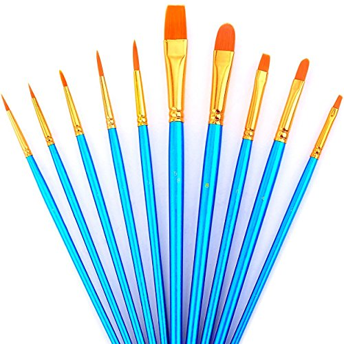 advcer-10pcs-art-paint-brush-set-for-watercolor-oil-acrylic-paint-craft-nail-face-painting