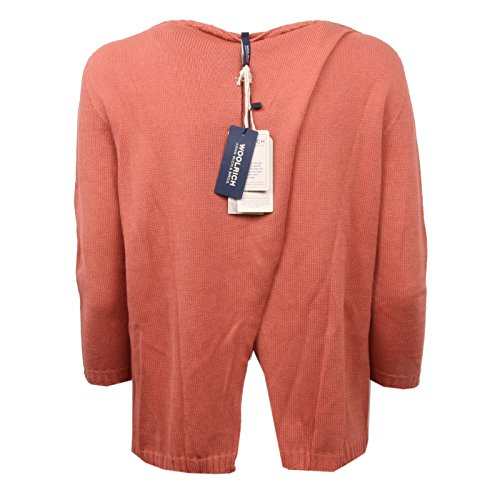 Ruggine C5368 Maglione Donna Sweater Woman Cotone Woolrich OnYRwvUq
