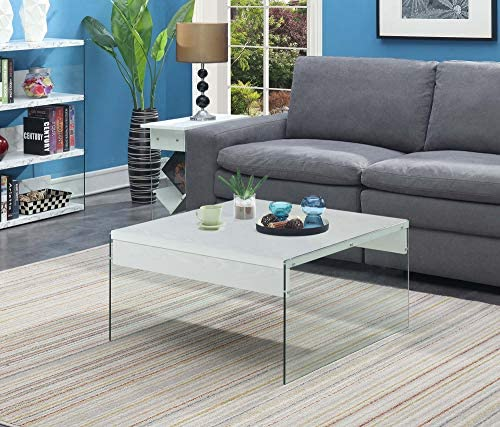 Amazon Brand Stone Beam Bernice Industrial Reclaimed Parquet Wood Coffee Table, 42 W, Natural and Black