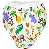 Kushies Taffeta Waterproof Training Pants (Large, Jungle)