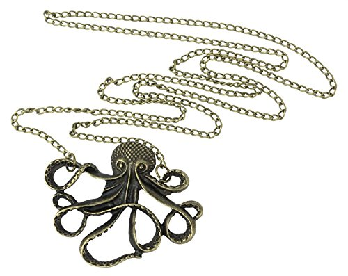 leegoal Steampunk Nautical Antiqued Necklace