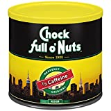 Chock Full O Nuts Ground Coffee, Original Blend, 48 Ounce (Medium Roast)