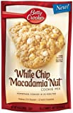 Betty Crocker Baking Mix, White Chip Macadamia Nut Cookie Mix, 14 Oz Pouch (Pack of 12)