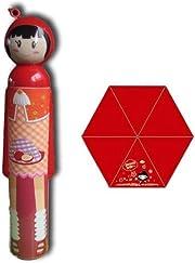 Sayonara! Ti piace questa deliziosa idea regalo consistente in una bambola stile giapponese? Beh… con lei niente ci può fermare, neanche la pioggia! …anche perché è un ombrello!