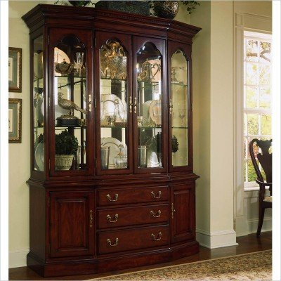 Amazon.com - American Drew Cherry Grove China Cabinet in Antique ...