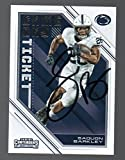 #7: Saquon Barkley signed autographed Panini rookie card Penn State & N Y Giants -