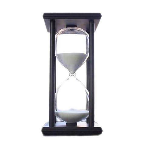 Black Temptation 30 Minutos Temporizador de Cuenta atrás Reloj de Arena Reloj de Arena Relojes de