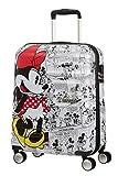 Trolley Rigido 55cm 4 Ruote Cabina | American Tourister Wavebreaker Disney | 31C001-Minnie Comics White