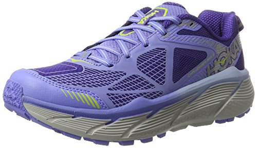 Hoka One Women's Challenger ATR 3 Persian Jewel/Green Glow Ankle-High Running Shoe - 7.5M