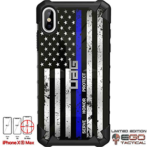 the best attitude 6b95d 347d8 Limited Edition Designs by Ego Tactical on a UAG Urban Armor Gear Case for  Apple iPhone Xs Max (Larger 6.5