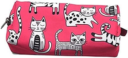 Estuche para lápices de gato rosa, bolsa de maquillaje, regalo ...