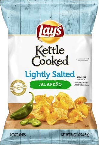 lays jalapeno kettle chips - 7