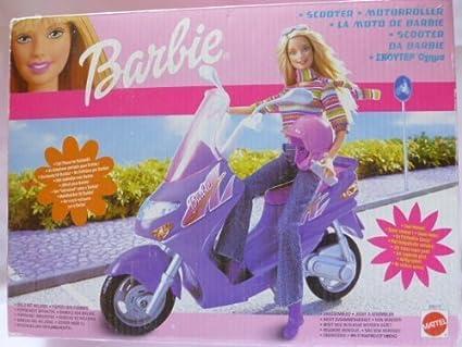 Amazon.com: Barbie Blue Vespa Motor Scooter for 12\
