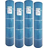 4 Guardian Antimicrobial Pool Spa Filter Replaces UNICEL C-7494 Hayward Swimclear Cx1280re C5025 PA131, Filbur FC-1227 Microban
