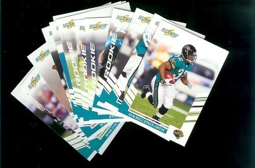 Jacksonville Jaguars Football Cards - 3 Years of Score Complete Team Sets 2006,2007, 2008 - Includes Stars, Rookies & More - Individually Packaged!