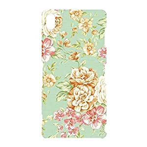 Fashionable Mint Cath Flower Kidston Phone Case Protective Shell Cover For Sony Xperia Z3 Flower Kidston Awesome