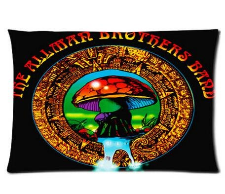 Ruby Opal Cool Pillowcase The Allman Brothers Band Pillow Ca