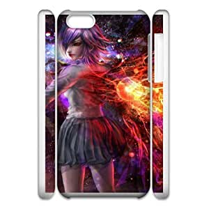 iphone 5c Cell Phone Case 3D Tokyo Ghoul 91INA91271457
