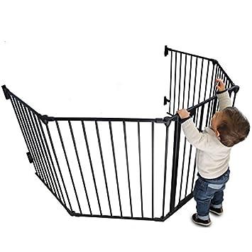 8e6a0ae62e2cac Monsieur Bébé ® Parc ou Barrière de sécurité et cheminée enfant 310cm (5  côtés)