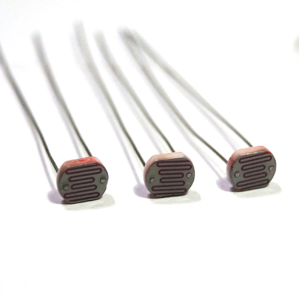 Photoresistor Photoconductive Cell Light Dependent Resistor 20 30k Ldr For Beginners In Electronics 7mm Ceramic Pacakge50 Industrial Scientific