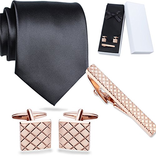 Mens Solid Color Necktie Links product image