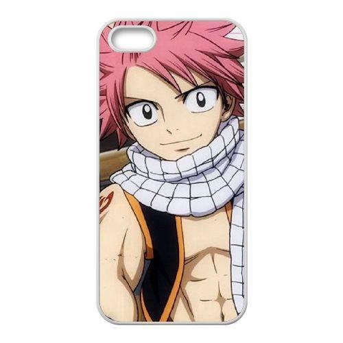 O7O46 Fairy Tail H5D8IM coque iPhone 5 5s cellulaire cas de téléphone couvercle coque blanche II9SST4IL