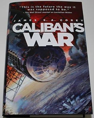 book cover of Caliban\'s War