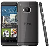 Htc One M9 Case, Anti Yellow Hard Crystal Case Clear Transparent Hard PC Case Cover For Htc One M9