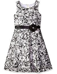 Big Girls' Printed Lace Dress