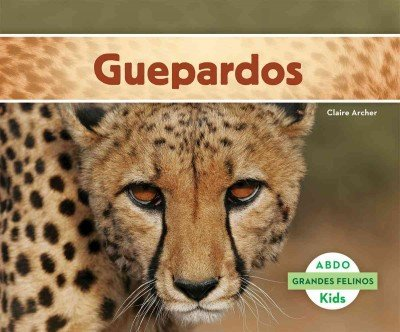 Guepardos (Grandes Felinos / Big Cats) (Spanish Edition) by Abdo Kids