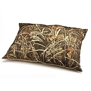 Realtree Max-4 Pet Bed For Indoors and Outdoors, Durable and Water Resistant, Camoflauge and Khaki, 36in x 45in 113