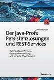 Der Java-Profi: Persistenzlösungen und REST-Services:Datenaustauschformate, Datenbankentwicklung und verteilte Anwendungen