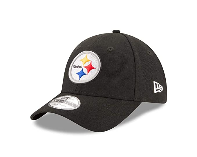 766e5f27de8f10 Amazon.com : New Era Pittsburgh Steelers Youth NFL 9Forty The League  Adjustable Hat : Clothing