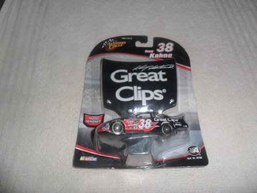 2005 Kasey Kahne #38 Great Clips Dodge Charger 1/64 Scale Diecast Winners Circle With Matching Magnet Hood