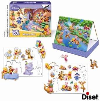 Diset 46103 – Juego de Tablero – Juego Educativo – Magnetics – Winnie The Pooh: Amazon.es: Juguetes y juegos