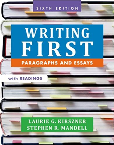 com writing first readings paragraphs and essays  writing first readings paragraphs and essays 6th edition