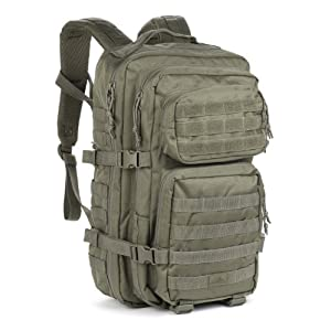 Red Rock Outdoor Gear Assault Pack (One Size, Olive Drab)