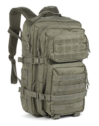 Red Rock Outdoor Gear Assault Pack (One Size, Olive Drab) - Outdoor Gear